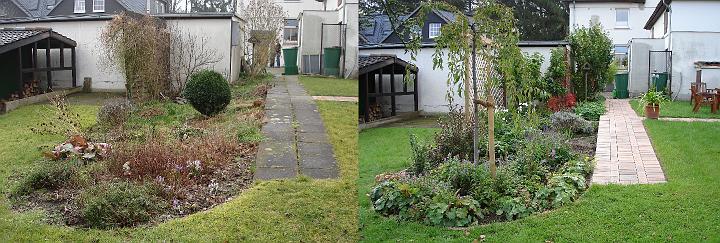 Engelbrecht gartengestaltung vorher nachher vorher nachher 2 for Gartengestaltung 20 qm